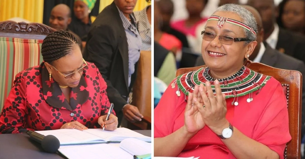 Kenya's first lady
