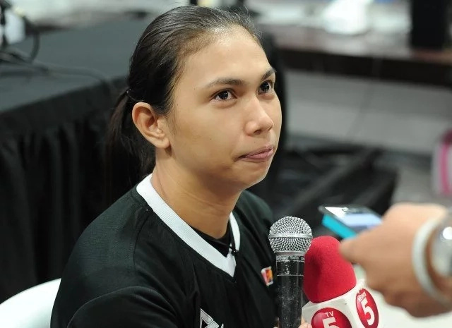 PHOTOS: PBA showcases its 1st female referee in history