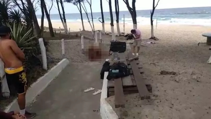 Pornstars were caught having sex on Rio de Janeiro Olympic  beach!