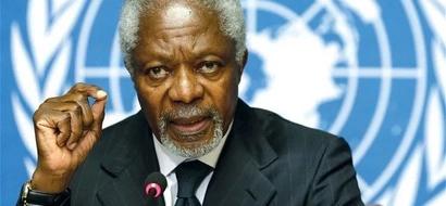 ICC should have jailed Uhuru and Ruto - Kofi Annan