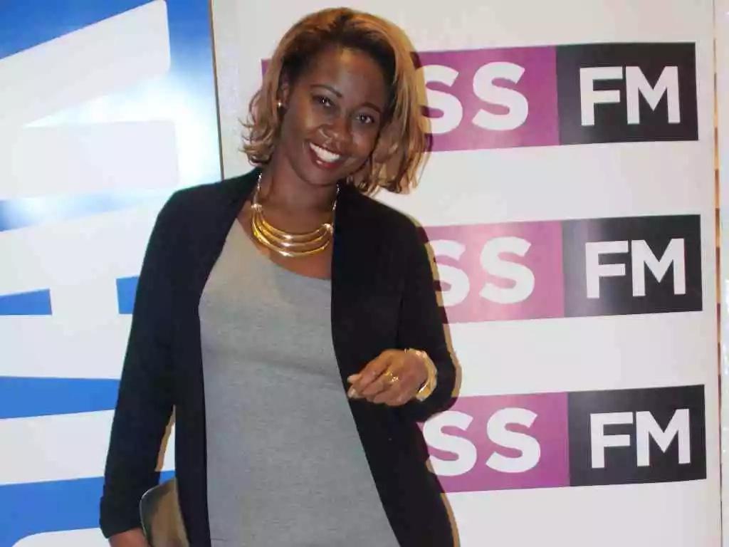 Kalekye Mumo is back on air