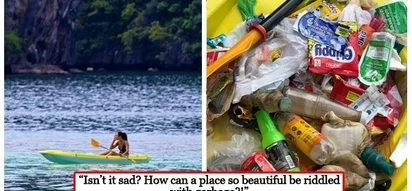 Respeto sa kalikasan! Maggie Wilson appeals to tourists to dispose their trash properly when visiting Coron