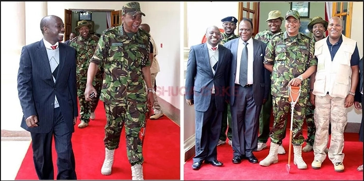 Uhuru's shoes elicits mixed reactions from Kenyans