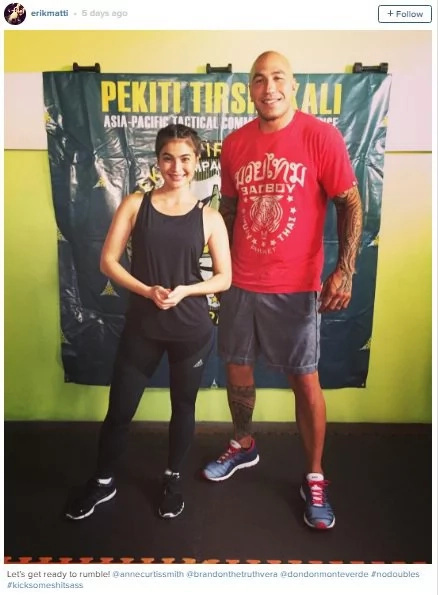 Anne Curtis to star in action-drama film with Brandon Vera