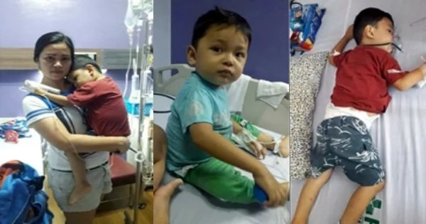 Uncle's Plea For His Sick Nephew Diagnosed With Leukemia. Edwin Patriarca, An IT Student Seeks Help Online For His Little Nephew, John Jayden.