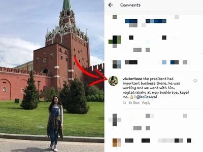 Kitty Duterte roasts basher of the President on her Instagram post!