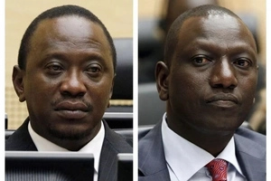 Uhuru and Ruto will burn this country- Raila Odinga