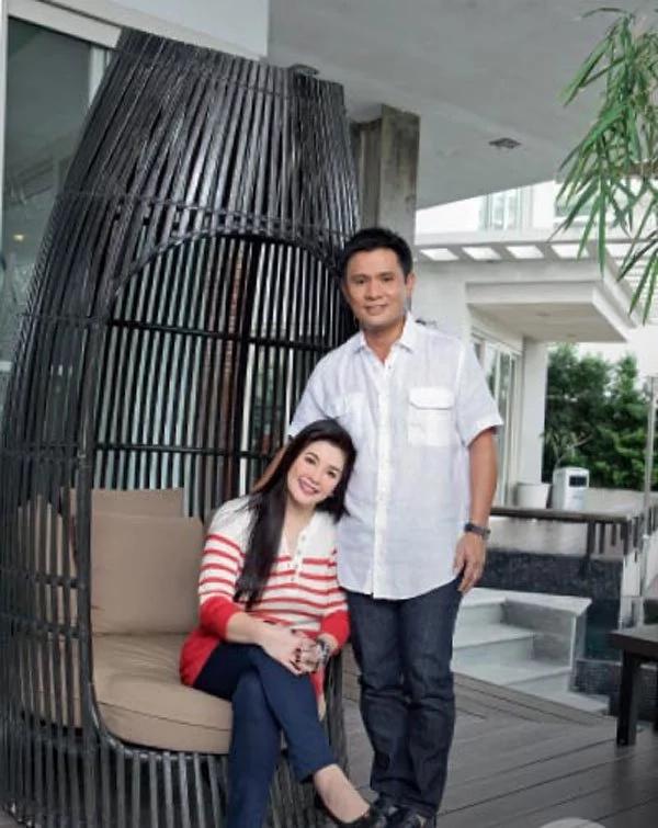 Regine Velasquez and Ogie Alcasid shares photos of their Quezon City home