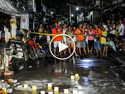 Summary killing in Makati! Pinoy gunmen on motorcycles brutally kill man drinking with friends