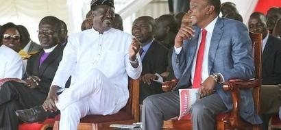 Uhuru angemwonyesha KIVUMBI Raila iwapo uchaguzi ungefanyika leo - utafiti