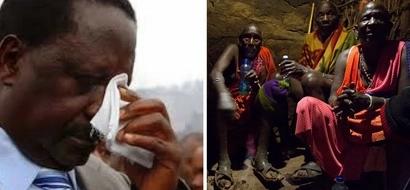 Maasai elders set to CURSE Raila Odinga over his phone call with late Ntimama