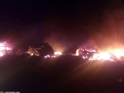 Raila Odinga, DP Ruto leads Kenyans in mourning 40 killed in Naivasha TANKER tragedy