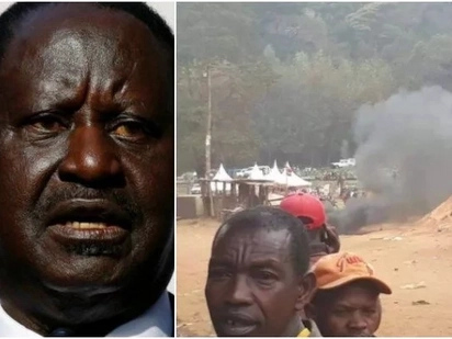 The violence witnessed in Meru was sponsored-Raila
