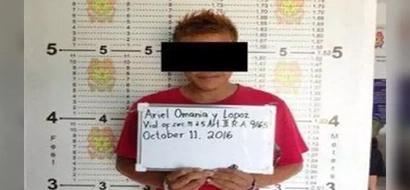 Huli sa akto! Number 1 drug suspect caught red-handed selling shabu by vigilant cops