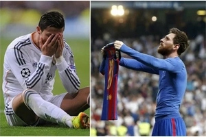 The world HILARIOUSLY erupts after Lionel Messi's celebration in El Classico