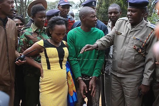 Nyeri's most dreaded pregnant criminal arrested