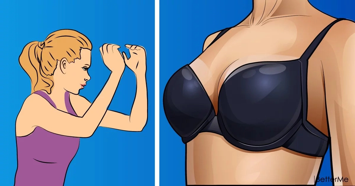 Moves for women to firm up and shapen the breasts