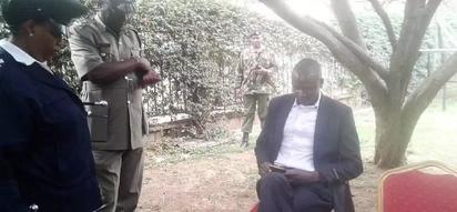 Mkuu wa polisi azungumza baada ya madai kuwa mlinzi wa Wetangula alifutwa kazi