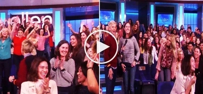 Erich Gonzales spotted on 'The Ellen DeGeneres Show' having fun and enjoying life!