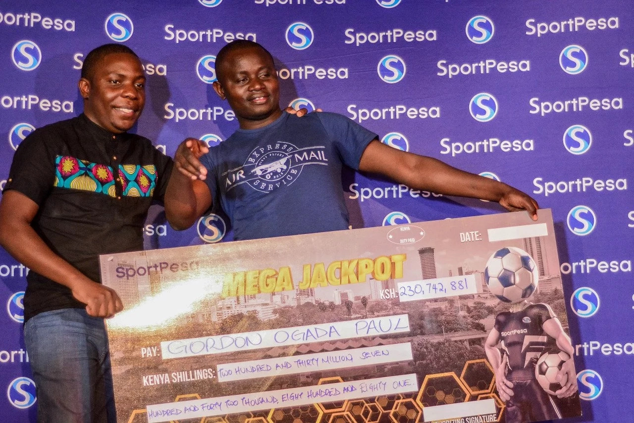 This is the amount Gordon Ogada will take home from the KSh 230m SportPesa Mega Jackpot