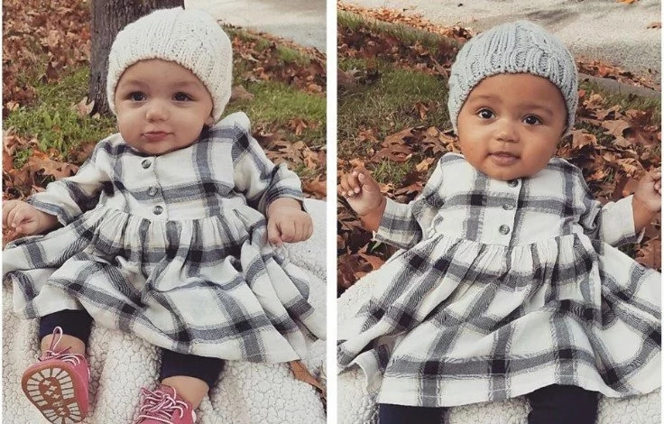 Cute! World falls in love with these black and white baby TWINS