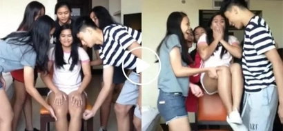 Totoo nga! These Pinoy teens just did the finger lift challenge and we are all shook