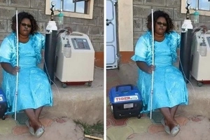 Wonderful:13,000 Kenyans raise 6.1 million in six days for this lady on life support