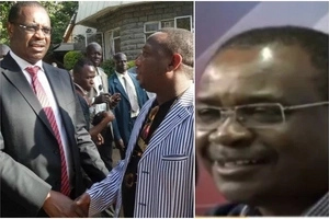 Mike Sonko meets Kidero face to face and the result is interesting