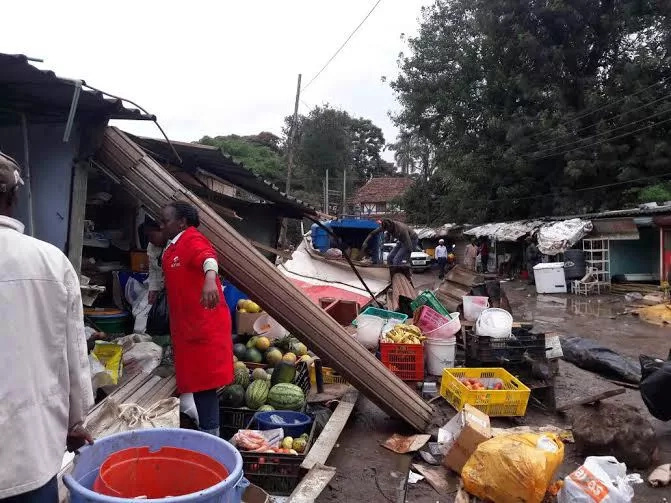 Westlands traders blame Nairobi City County for demolitions