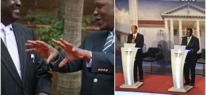 What Uhuru and Raila must wear before attending the Presidential debate