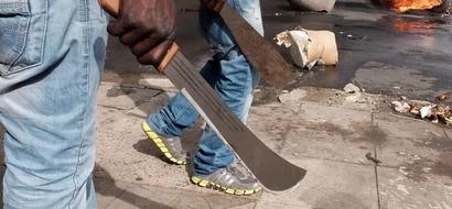 Lori lenye silaha hatari lazuiliwa na Polisi katika ngome ya Uhuru