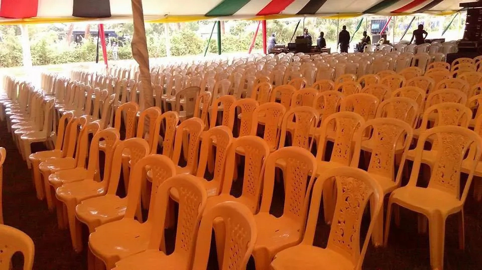 Preparations for thousands at Mama Lucy Kibaki burial
