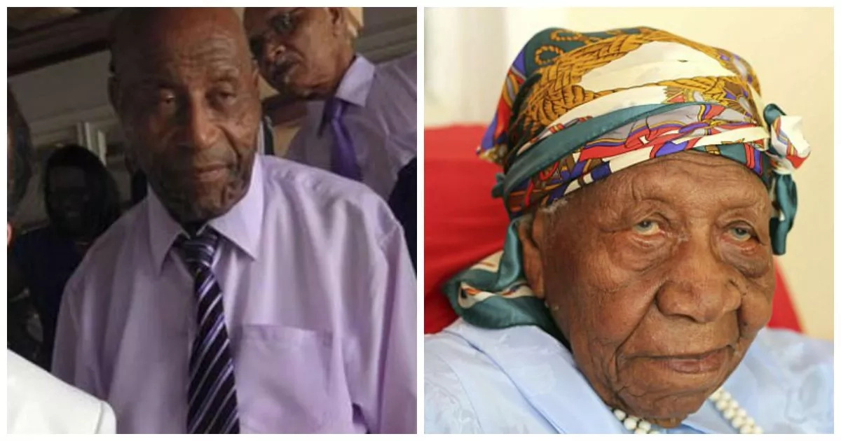 World's oldest person, 117, outlives her eldest son, aged 97, who has died (photos)