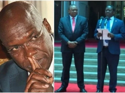Raila has already backed Jubilee, time to form separate opposition outfit - Khalwale tells NASA co-principals