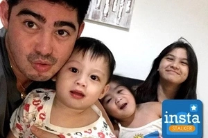 Super Daddy Danilo Barrios! Left spotlight for a fuller life with his adorable kids!