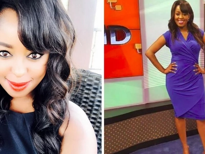 Lillian Muli teases her followers in a tiny dress that barely covers her yellow yellow legs