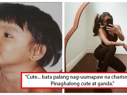 Bata pa lang pang-superstar na! Baby picture of this popular celebrity made netizens gush for cuteness