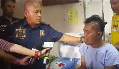 Bato visits cop shot in the head during police operation
