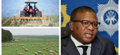 Police Minister says majority of farmers are not racist