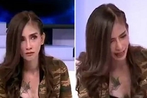 WATCH: Thai model goes on live TV and becomes possessed by an evil spirit!