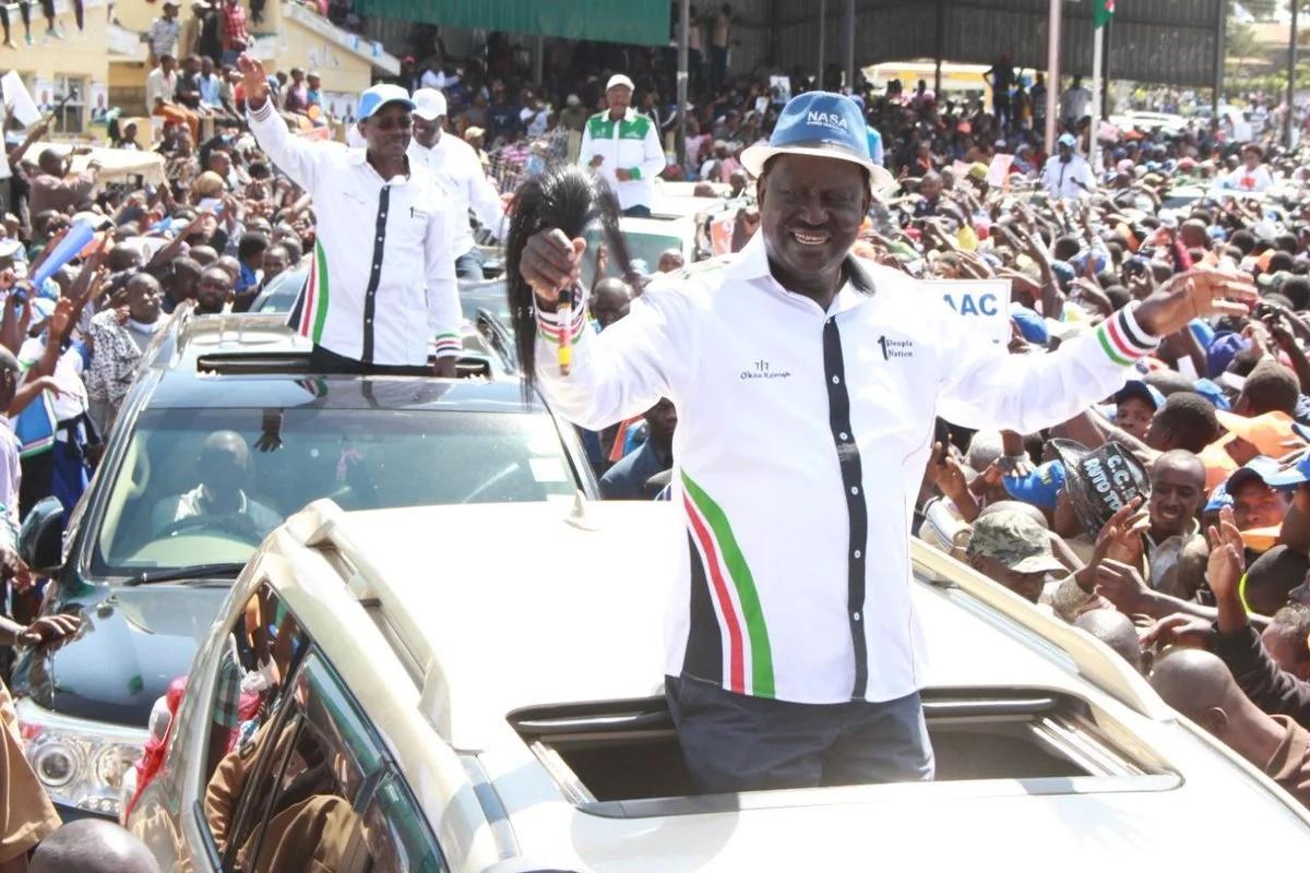 Picha za umati mkubwa katika kampeni ya muungano wa NASA ambazo zimetikisa wana Jubilee