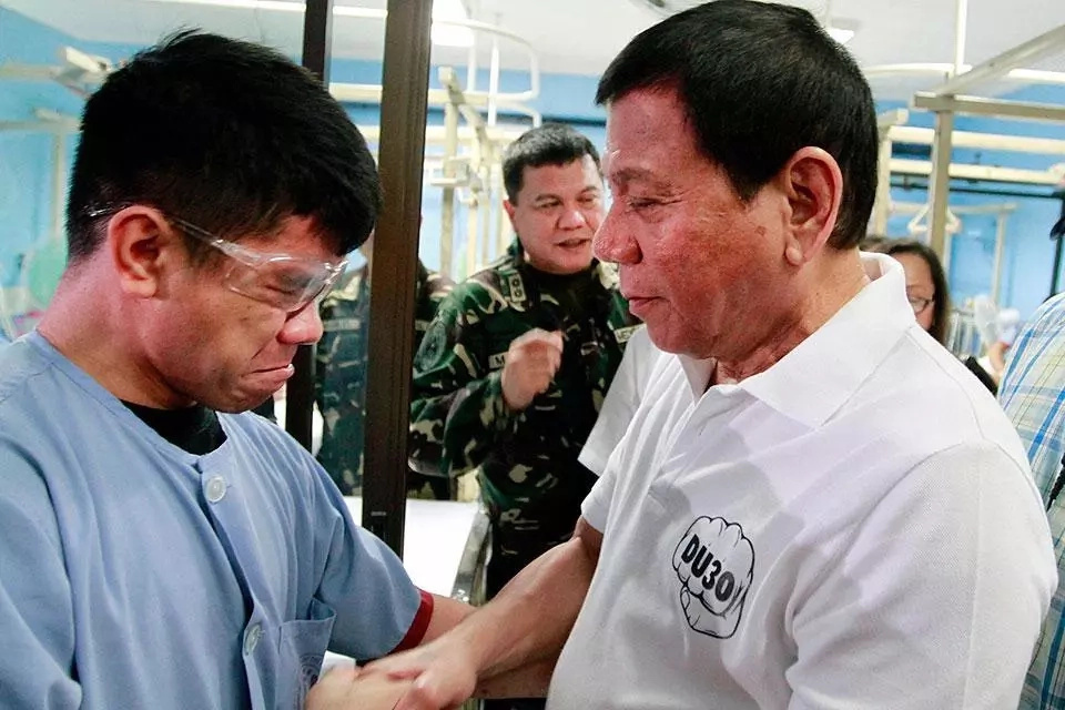 Philippines in Tatay Digong's loving arms