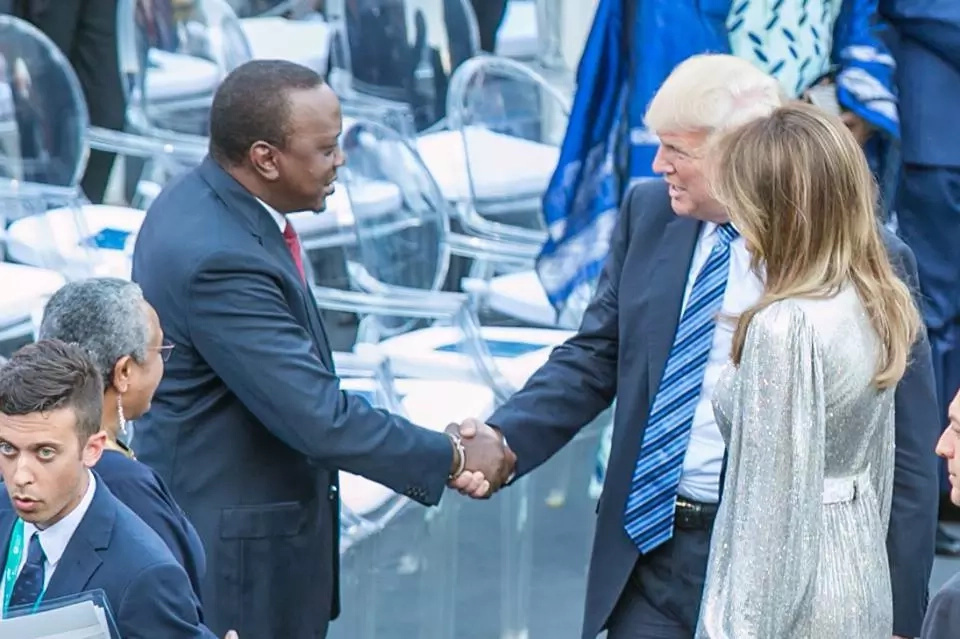 Trump 'unavailable' for talks with Uhuru? Details