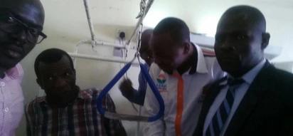 Mfuasi sugu wa ODM aponea chupu chupu baada ya kukanyagwa na gari la polisi wakati wa maandamano