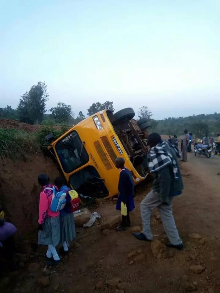 Sirisia, Bungoma, Accident