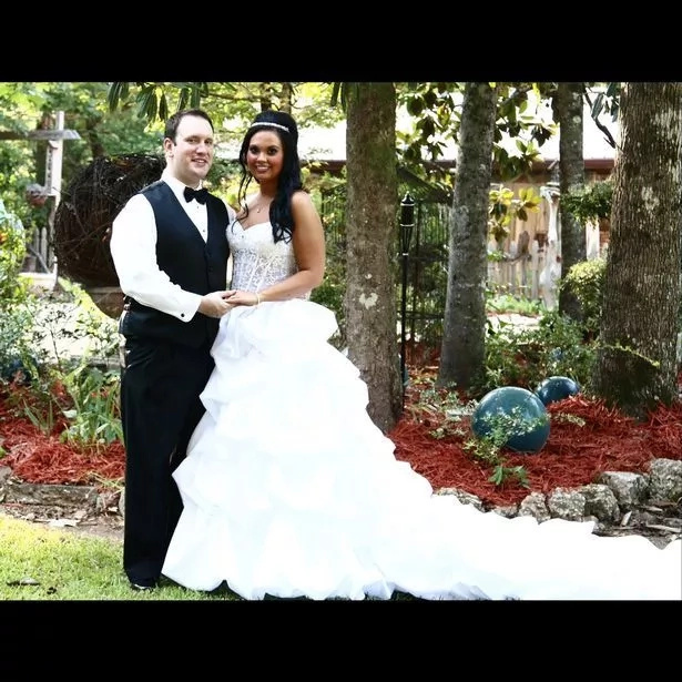 Alyssa's weight-loss journey began just before her wedding