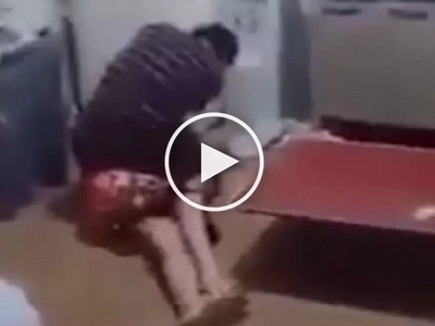 Walang awang lalake! Violent Asian man caught on video brutally beating up helpless woman