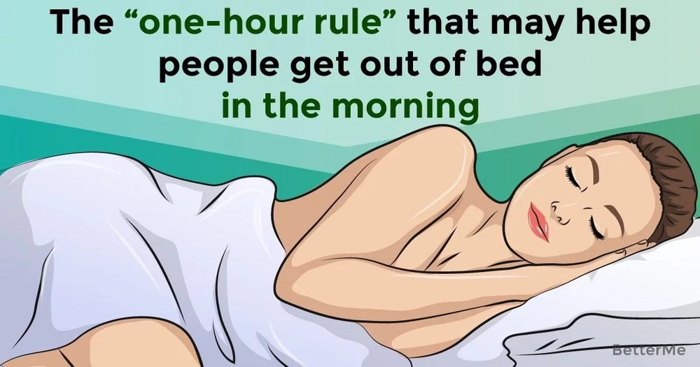 "The ""one-hour rule"" that may help people get out of bed in the morning"