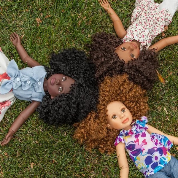 Meet woman who designed a highly successful dolls line with diverse styles, hairstyles, and shades (photos, video)