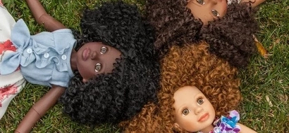 Tired of monochromatic black dolls, woman designed a highly SUCCESSFUL line with diverse styles, hairstyles and shades (photos)